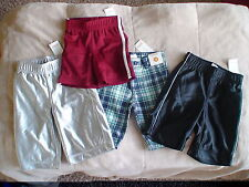 NWT GYMBOREE DEEP SEA ADVENTURE ATHLETIC PLAID COMFY SHORTS