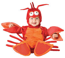 LIL LOBSTER INFANT TODDLER COSTUME Baby Kids Under the Sea Creature Theme Party