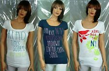 Aeropostale Women Beads Embellished Cotton Tee T shirt 3pc Lot MSRP$73.50 Value
