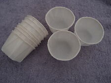 10 x Disposable Souffle Pots Ideal for Soap Making * Bath Products *