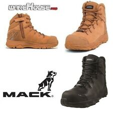 New MACK Boots Saturn Work Safety Shoes with Composite Toe- Size 4UK/AUS