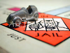 Monopoly- In Jail - CANVAS OR PRINT WALL ART