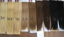 """20"""" CLIP ON DELUXE THICK HUMAN HAIR EXTENSIONS 220 GRAMS CHOOSE COLOR BODY BLING"""