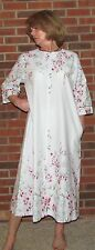 "Robe Long Cotton Zipper ""Made in USA"" S - 3XL - Great Buy!!!!"