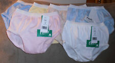 Girls Cotton Hipster brief underpants MADE IN USA 4/$15.00
