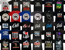 CALIFORNIA REPUBLIC T-SHIRT Mens Women Youth SoCal NorCal Cali Beach 4 STYLES!