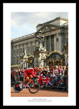 Bradley Wiggins 'London' Tour de France Cycling Photo Memorabilia (076)