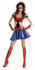 SPIDERGIRL SASSY PRESTIGE DISGUISE HERO ADULT WOMENS COSTUME Heroine Halloween