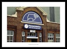 Derby County - The Baseball Ground Main Stand Entrance Photo Memorabilia (608)