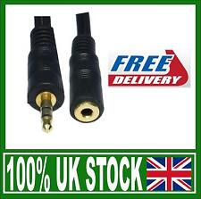 3.5mm Audio Stereo Jack Extension Extender 1.5m 2m 3m 5m 10m 15m 20m Lead cable