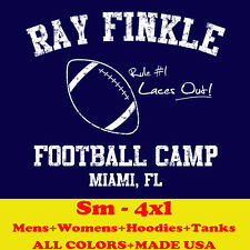 582 RAY FINKLE FOOTBALL CAMP ace ventura movie dolphins hoodie tee mens t-Shirt