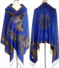 Lady's Double Side Pashmina Butterfly Wrap Shawl/Scarf ****Multi-color available