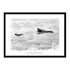 Avro Vulcan Bomber Last Flight 1984 Aviation Photo Memorabilia (354)