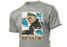 """""""Victory Begins at Home"""" US Navy Army Airforce Pilots USMC Marines Nose Art -5XL"""