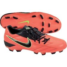 Nike TOTAL 90 SHOOT IV FG SOCCER SHOES RED/NAVY/NEON BRAND NEW