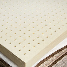 100% Natural Latex Mattress Topper 2 inches - Full Size