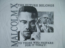Malcolm X - The Future Belongs to Those Who Prepare For It Today - Mens T-Shirt