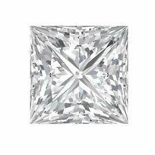 FOREVER BRILLIANT Princess Square Moissanite created by Charles & Colvard