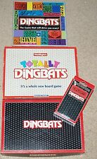 Vintage Waddingtons Goliath DINGBATS TOTALLY Travel Magnetic Family Board Game