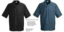 2 FOR 1 Bowling Type Camp SHIRT Retro Vintage 50s Casual Black / Blue Rockabilly