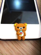 Cute Character Home Button STICKER for Apple Mobile Phone with Silicone Made