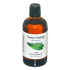 Sweet Orange Essential Oil 100% Pure & Natural Choose Size 10ml 50ml 100ml
