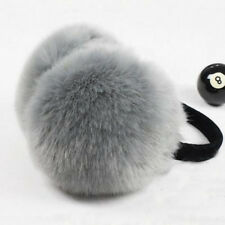 women's Winter Earmuffs Earwarmers Ear Muffs Earlap Warmer Headband Cute Gray