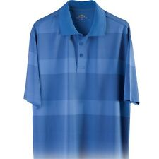NEW! Mens SKINS GAME UV Moisture Wicking Striped Golf Polo Shirt - L
