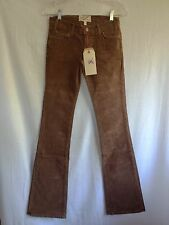 NWT Current/Elliott Cowboy in ROOT BEER (Brown)_Bootcut CORDUROY-VERY NICE!