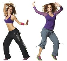 Authentic New in Package Zumba Chic Samba Cargo pants  ~~  S, M, L, XL ~~NWT