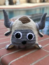 and Crochet Appa Avatar The Last Airbender Hat Beanie Made to Order NEW!