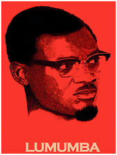 887 Red Lumumba political Art Decoration POSTER.Graphics to decorate home office