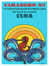 979 Latin Music Festival Art Decoration POSTER.Graphics to decorate home office.