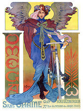 1139 Omega Cycles Ad Art Decoration POSTER.Graphics to decorate home office.