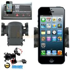 360 Degree In Car Air Vent Holder Cradle Kit For Various Mobiles 45mm To 105mm