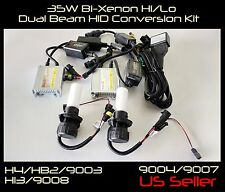 35W H13/9008 6000K 8000K 10000K Bi-Xenon Hi/Lo Dual Beam Head Light HID Kit
