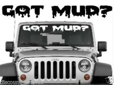 GOT MUD? BOGGING VINYL DECAL STICKER HOLE TRUCK ATV 4 WHEEL 4x4 COUNTRY REDNECK