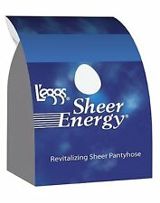 L'eggs Sheer Energy Control Top, Reinforced Toe Pantyhose 6-Pack - style 65211