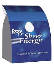L'eggs Sheer Energy Control Top, Reinforced Toe Pantyhose 6-Pack style 65211