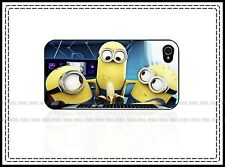 Despicable Me Minions Banana Fun Hard Case For iPhone 4 4s 5 5c 6 6Plus iPod 5th