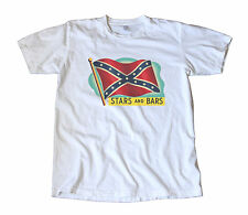 Vintage Stars & Bars Decal T-Shirt - Confederate, Dixie, Southern Cross, Rebel