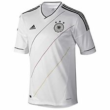 adidas Germany Euro 2012 Home Soccer Jersey Brand New White YOUTH - KIDS