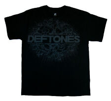 DEFTONES - Floral Burst - T SHIRT S-M-L-XL-2XL Brand New - Official T Shirt