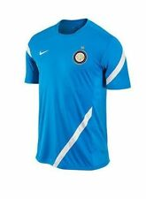 Nike Inter Milan Official 2011 - 2012 Soccer Training Jersey Sky Blue  / White