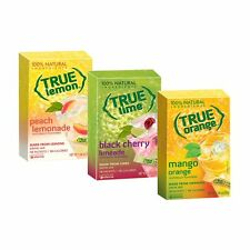 True Lemon Peach Lemonade Black Cherry Limeade & Orange Mango - 3pk x 1.06oz