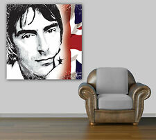 PAUL WELLER THE JAM PRINT ON CANVAS - Framed Mod Wall Art- Choose Size & Colour