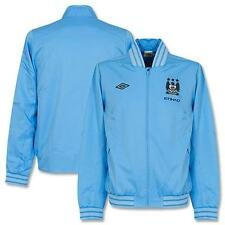 BNWT Umbro Manchester City Blue Walkout Jacket 2012 2013 Mens- RRP £70 AT £39.99