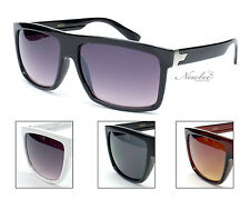 Men Classic Retangular Lens Sunglasses 4 Colors Black Brown White Sporty Casual