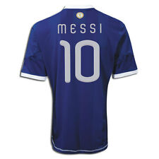 ADIDAS LIONEL MESSI ARGENTINA AWAY JERSEY FIFA WORLD CUP SOUTH AFRICA 2010