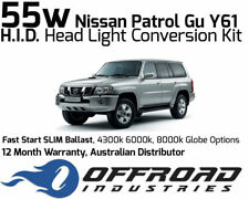 55w Nissan Patrol GU Y61 Headlight Fast Start HID Conversion Kit